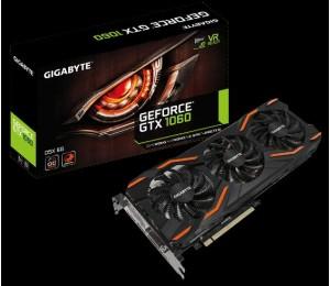 Gigabyte Gf Gtx 1060 Pcie X16 6Gb Gddr5 2Xdvi Hdmi Dp Windforce 3 Oc 3Yr Wty Gv-N1060Wf3Oc-6Gd