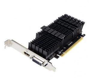 Gigabyte Gf Gt710 Pcie X8 2gb Ddr5 Dvi Hdmi Fanless Low Profile 3yr Wty Gv-n710d5sl-2gl