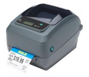 Zebra Gx420t 4in Desktop Thermal Transfer Printer 203dpi Uk/au/jp Cords Epl2 Zpl Ii Usb Serial