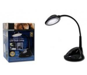 Generic Dual Power/ Usb Compatible 36 Super Bright Led Desk Lamp With 25cm Flexible Neck Hb002