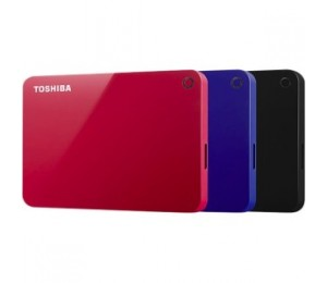 Toshiba Canvio Advance V9 Usb 3.0 Portable External Hard Drive 2tb (blue) Hdtc920al3aa