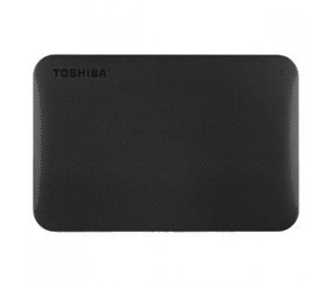 "TOSHIBA 1TB - 2.5"" PORTABLE USB3.0 HARD DRIVE (BLACK), 3YR HDTP210AK3AA"