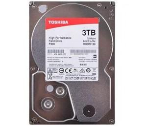 Toshiba P300 3tb Desktop Pc Internal Hard Drive 7200 Rpm Sata 6gb/ S 64 Mb Cache 3.5 Inch Hdwd130uzsva
