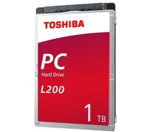 """Toshiba L200 Int 2.5"""" 1tb 5400rpm Mobile Hdd Sata (7mm) Hdwl110uzsva"""