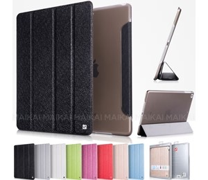 Hoco Ice Ultra Slim Premium Smart Case For Ipad 2 /3 /4 Cool Black, Free Screen Protector