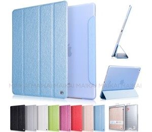 Hoco Ice Ultra Slim Premium Smart Case For Ipad 2 /3 /4 Sky Blue, Free Screen Protector