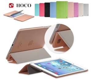 Hoco Ice Ultra Slim Premium Smart Case For Ipad Mini/ Mini Retina Champagne Gold, Free Screen Protector