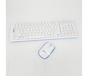 Huntkey 2.4g Wireless Keyboard And Mouse Combo Km-136rf Hunkm136rf