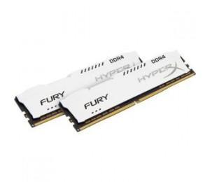 KINGSTON 16GB 2133MHZ DDR4 CL14 DIMM (KIT OF 2) 1RX8 HYPERX FURY WHITE HX421C14FW2K2/16