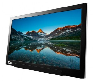 AOC 15.6IN I1601FWUX IPS FULL HD USB-C PORTABLE MONITOR 5MS CONTRAST 700:1 AUTO PIVOT LOWBLUE