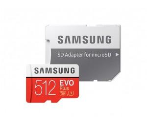 Samsung Evo Plus Microsd Card 100 Mb/ S (Sd Adapter) Mb-Mc512Ga Ffcsam512Gmcga