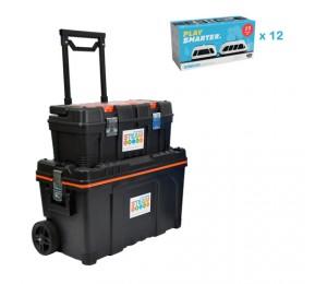 12 X Intelino Smart Trains With 1 Free Storage Kit Int-J1-Ss1-12-1Sk