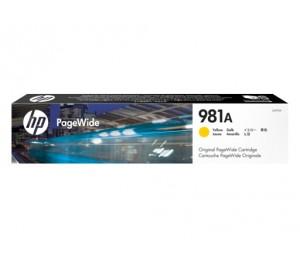 HP 981A YELLOW ORIGINAL PAGEWIDE CRTG J3M70A