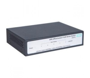 HP 1420 5G SWITCH, 5 X GIG PORTS, FANLESS, UNMANAGED, LIFE WTY JH327A