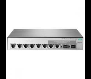 HP 1850 6XGT 2XGT/ SFP+ SWITCH, 6 X 10GBASET, 2 X SFP+ PORTS, WEB-MGD, LIFE WTY JL169A
