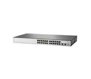 HP 1850 24G 2XGT PoE+ 185W SWITCH, 24 X GIG, 2 X 10GBASET PORTS, WEB-MGD, LIFE WTY JL172A