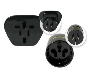 Korjo 2 Pack Reverse Adaptor Set for Australia & New Zealand