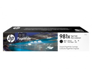 HP 981X HIGH YIELD BLACK PAGEWIDE CRTG L0R12A