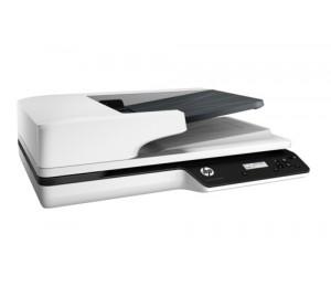 HP SCANJET PRO 3500 F1 FLATBED SCANNER / 25 PPM 50 IPM / ADF UP TO 600 DPI FLATBED UP TO 1200 DPI