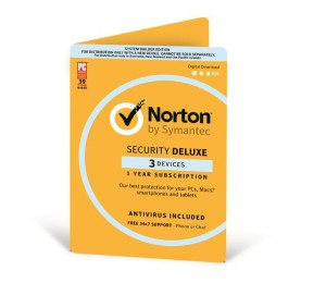 Norton Security Deluxe - 3 License Multi Device - Valid For 12 Months Norton Security Deluxe 3