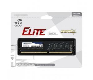 Team Group DDR4 2400MHz PC4-19200 16GB (16GBx1) DIMM 16-16-16-39 1.2V Elite TED416G2400C1601