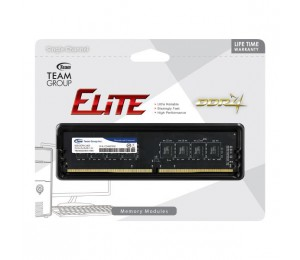 Team Group DDR4 2400MHz PC4-19200 8GB (8GBx1) DIMM 16-16-16-39 1.2V Elite TED48G2400C1601