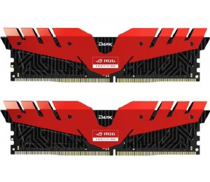 Team Group Ddr4 3000mhz Pc-24000 Gaming T-force Dark Series Rog 16gb (8gb*2) Dimm 16-18-18-38