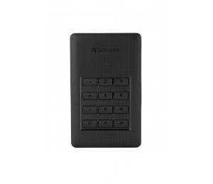 Verbatim Store 'n' Go Secure Portable HDD with Keypad Access 1TB 53401