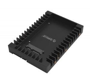 Orico 2.5 To 3.5in Ssd To Hdd Caddy Orc-1125ss-bk