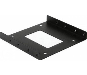 Orico 2.5 To 3.5 Inch Aluminum Hard Drive Caddy - Black Ac325-1s-bk