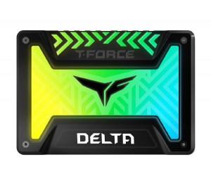 """Team T-force Delta Rgb Ssd 250g Black 2.5"""" (560mb/s Read 500mb/s Write) T253tr250g3c313"""