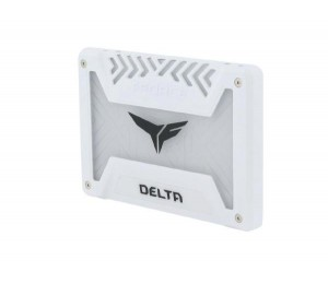"""Team T-force Delta Rgb Ssd 250g White 2.5"""" (560mb/s Read 500mb/s Write) T253tr250g3c413"""