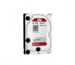 "Western Digital Hdd 3.5"" Internal Sata 6Tb Red Variable Rpm 3 Year Warranty Wd60Efax"
