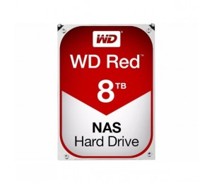 Western Digital Red Nas Hard Drive 8tb Sata Iii 6 Gb/ S 5400-rpm .5in 256mb Cache 3 Years Wd80efax