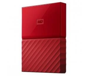 Western Digital My Passport 2tb Usb 3.0 Portable Hard Drive - Red Wdbyft0020brd Wdbyft0020brd