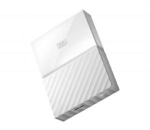Western Digital My Passport 2tb Usb 3.0 Portable Hard Drive - White Wdbyft0020bwt 3 Year Warranty