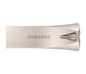 Samsung Usb 3.1 128Gb Flash Drive Bar Plus- Champaign Silver Muf-128Be3/ Apc