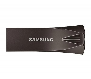 Samsung Usb 3.1 256Gb Flash Drive Bar Plus- Titan Gray Muf-256Be4/ Apc