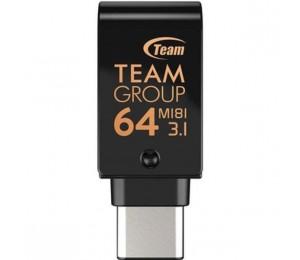 Team Group 64Gb M181 Otg Dual Usb Key Tm181364Gb01