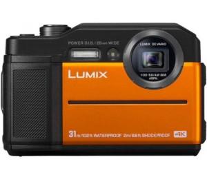 Panasonic Lumix Dc-Ft7 20.4 Megapixel Digital Camera Orange Dc-Ft7Gn-D