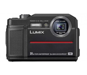 Panasonic Lumix Dc-Ft7 20.4 Tough Digital Camera Black Dc-Ft7Gn-K