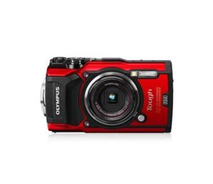 OLYMPUS Stylus Tough TG-5 Red - 12MP, 4x Optical Zoom, Waterproof, Dustproof,Shockproof, 4K movie ,