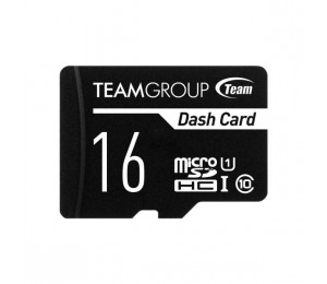 Team Dash Card 16GB USH-1 Micro SD Card TDUSDH16GUHS03