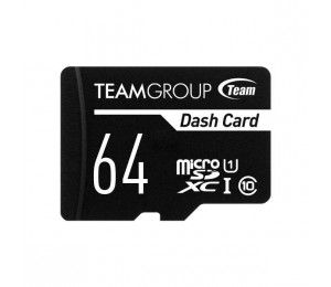 Team Dash Card 64gb Ush-1 Micro Sd Card Tdusdx64guhs03