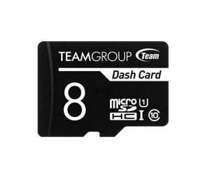 Team Dash Card 8gb Ush-1 Micro Sd Card Tdusdh8guhs03