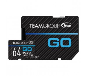 Team Go Card 64gb Micro Sd Card Tgusdx64gu303