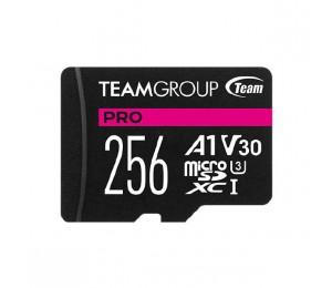 Team PRO V30 256GB U3 MicroSD CARD Tpusdx256Giv30A103