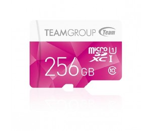 Team Group Colour Micro Sdxc 256gb Uhs-1 Sd Card Tcusdx256guhs46