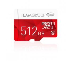 Team Group Colour Micro Sdxc 512gb Uhs-1 Sd Card Tcusdx512guhs54
