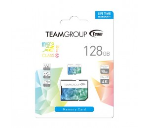 Team Colour Card Ii Micro Sdhc Uhs-1 U3 128g 90/45 R/w Tciiusxh128gu352